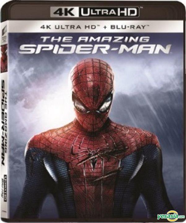 Yesasia The Amazing Spider Man 2012 4k Ultra Hd Blu Ray Hong Kong Version Blu Ray Andrew Garfield Rhys Ifans Intercontinental Video Hk Western World Movies Videos Free Shipping