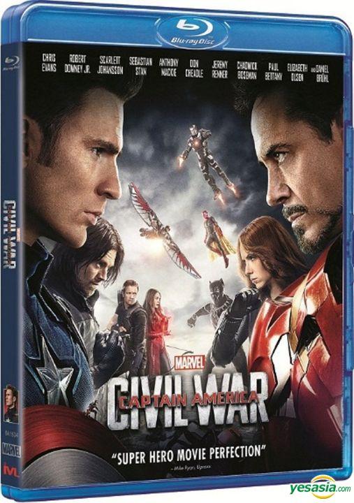 Yesasia Image Gallery Captain America Civil War 2016 Blu Ray Hong Kong Version