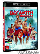 Baywatch (2017) (4K Ultra HD + Blu-ray) (2-Disc) (Limited Edition) (Korea Version)