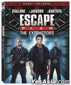 Escape Plan 3: The Extractors (2019) (Blu-ray + DVD + Digital) (US Version)