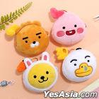 Kakao Friends Little Face Doll Wallet Keyring (Apeach)