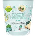 宝可梦 透明塑胶杯 (绿色)