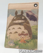 My Neighbor Totoro : Art Leather Series Pass Case Stroll