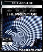 The Prestige (2006) (4K Ultra HD + 2 Blu-ray) (Hong Kong Version)