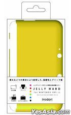 3DS LL Jelly Hard (黄色) (日本版)