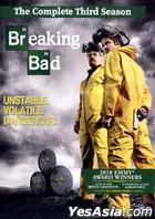 Breaking Bad (DVD) (The Complete Third Season) (Hong Kong Version)