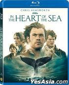 In the Heart of the Sea (2015) (Blu-ray) (Hong Kong Version)