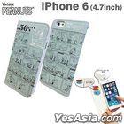 Peanuts : iPhone 6 Flip Case Blue (SNG-109BL)