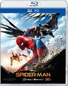 Spider-Man: Homecoming (3D + 2D Blu-ray) (Japan Version)