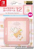 Nintendo Switch Character Card Case 12 Rilakkuma (Pajamas Party) (Japan Version)
