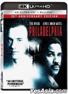 Philadelphia (1993) (4K Ultra HD + Blu-ray) (Hong Kong Version)