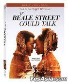 If Beale Street Could Talk (2018) (Blu-ray + DVD + Digital) (US Version)