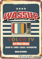 Wa$$up Mini Album Vol. 3 - Color TV