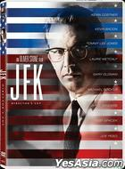 JFK (1991) (DVD) (Director's Cut) (Hong Kong Version)