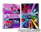 Trolls 1+2 Collection (DVD) (Taiwan Version)
