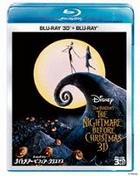 The Nightmare Before Christmas 3D Set  (3D Blu-ray + 2D Blu-ray) (Japan Version)
