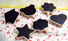 Cute Wooden Clip with Message Board (Heart)
