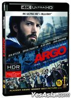 Argo (4K Ultra HD + Blu-ray) (2-Disc) (Limited Edition) (Korea Version)