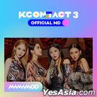 Mamamoo KCON:TACT 3 Official MD - Ticket & AR Card Set