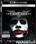 The Dark Knight (2008) (4K Ultra HD + 2 Blu-ray) (3-Disc Edition) (Hong Kong Version)