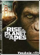 Rise Of The Planet Of The Apes (2011) (DVD) (Hong Kong Version)