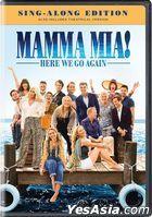 Mamma Mia! Here We Go Again (2018) (DVD) (US Version)