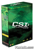CSI : Crime Scene Investigation - Second Season Box Set (DVD) (Limited Edition) (Korea Version)