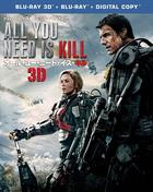 Edge of Tomorrow (3D + 2D Blu-ray) (First Press Limited Edition)(Japan Version)