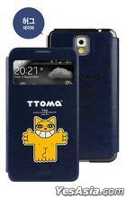 Samsung Galaxy Note 3 TTOMA View Flip Case (Hug Navy)