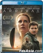 Arrival (2016) (Blu-ray) (Hong Kong Version)