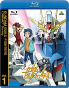 Gundam Build Fighters Compact  Vol.1  (Blu-ray)(Japan Version)