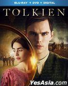 Tolkien (2019) (Blu-ray + DVD + Digital) (US Version)