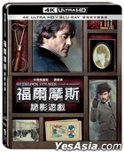Sherlock Holmes: A Game Of Shadows (2011) (4K Ultra HD + Blu-ray) (Steelbook) (Taiwan Version)