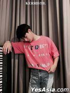 Kerrist - Black Valentine T-Shirt (Pink) (Size M)