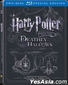Harry Potter And The Deathly Hallows - Part 1 (2010) (Blu-ray) (2-Disc Steelbook Edition) (2016 Reprint) (Hong Kong Version)