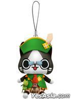 Monster Hunter Diary : Poka Poka Airou Village DX Airou Mini Mascot Plush Kanbanmusume