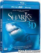 Sharks 3D (Blu-ray) (Hong Kong Version)