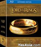 Lord Of The Rings Motion Picture Trilogy: Extended Edition (Blu-ray) (Hong Kong Version)