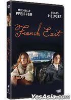 French Exit (2020) (DVD) (Hong Kong Vesion)