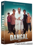 Dangal (Blu-ray) (Full Slip Amaray Case + Booklet + Postcard + Character Card Numbering Limited Edition) (Korea Version)