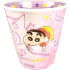 Crayon Shin-Chan Printed Plastic Cup (Pink)
