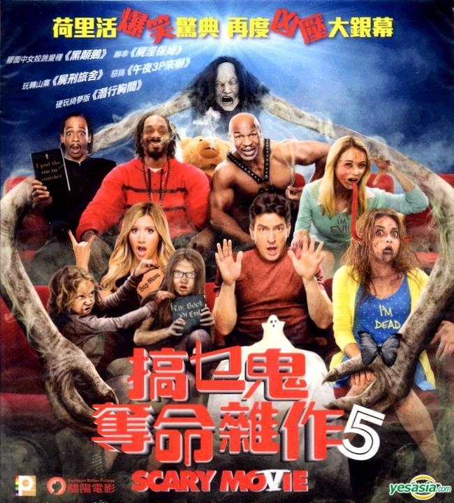 Yesasia Scary Movie 5 2013 Vcd Hong Kong Version Vcd Charlie Sheen Rex Simon Panorama Hk Western World Movies Videos Free Shipping North America Site
