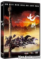 Seven Swords (2005) (DVD) (2-Disc Edition) (2019 Reprint) (Hong Kong Version)