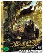 The Jungle Book (2D + 3D Combo Blu-ray) (2-Disc) (Korea Version)