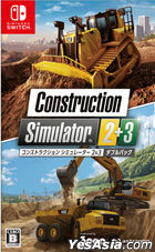 Construction Simulator 2 & 3 Double Pack (Japan Version)