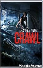 Crawl (2019) (DVD) (Hong Kong Version)
