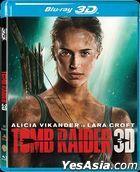 Tomb Raider (2018) (Blu-ray) (2D + 3D) (Hong Kong Version)