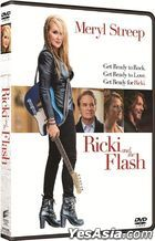 Ricki and the Flash (2015) (DVD) (Hong Kong Version)