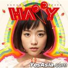 HAPPY (ALBUM+DVD) (First Press Limited Edition) (Taiwan Version)