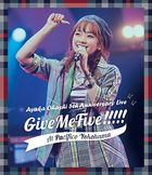 Ohashi Ayaka 5th Anniversary Live - Give Me Five!!!!! - at PACIFICO YOKOHAMA [BLU-RAY] (Japan Version)